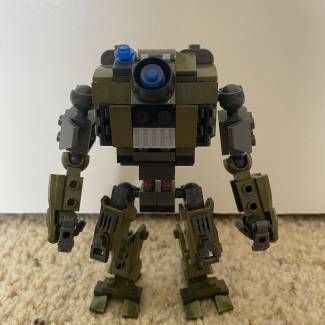 Image of: Titanfall Inspired mech
