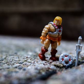 Image of: Mega Construx Masters of the Universe Series 1:  He-Man