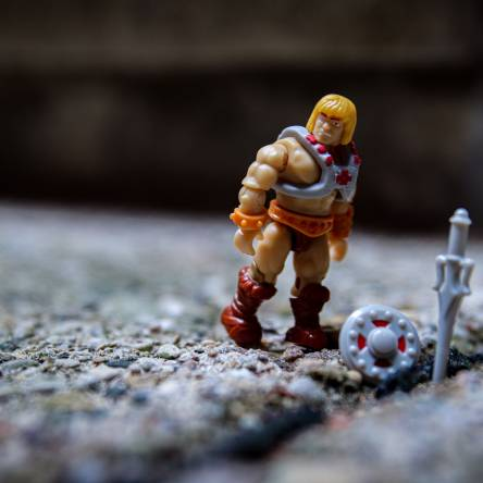 Mega Construx Masters of the Universe Series 1:  He-Man
