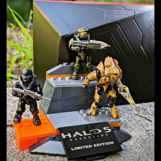 Image of: 2015 SDCC Halo Icons Character Pack
