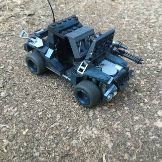 Image of: My Friend's Custom Ground Recon ATV