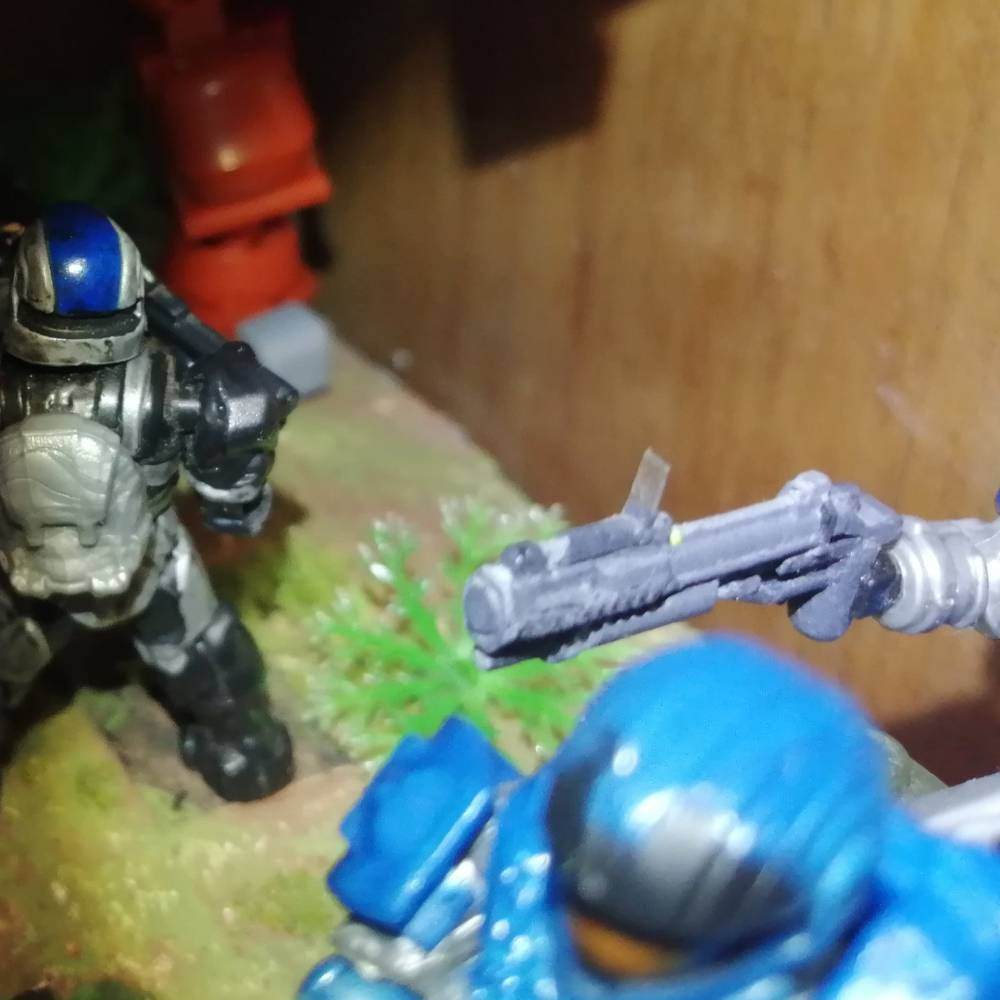 Image of: Detailed grenade launcher (old custom)