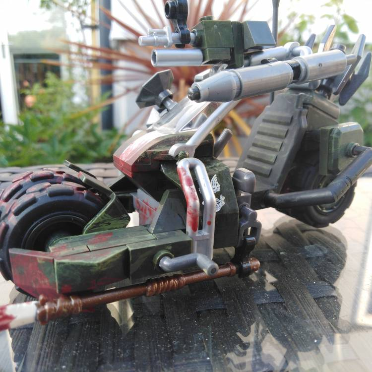Image of: Meat Bicycle (Borderlands themed bike)