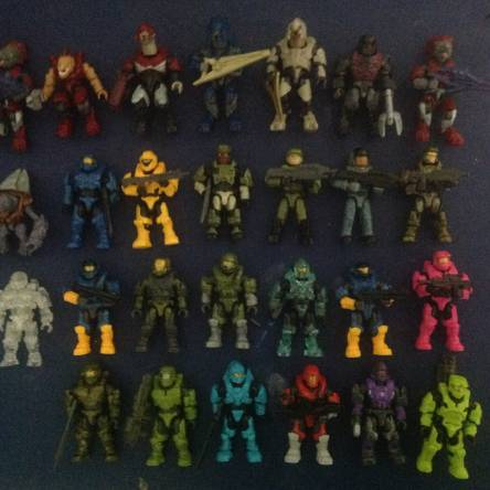 All my super-poseable minifigures