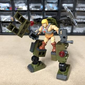 Image of: Building Idea: Scorpion Stomping He-Man