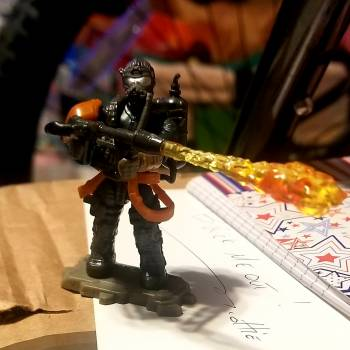 Incendiary Soldier Combined With A Firebreak Soldier