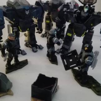 Image of: ONI Agents getting ready