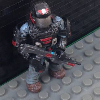 Image of: Custom ONI special ops security officer