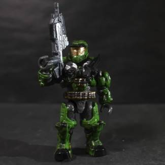 Image of: Máster chief (style halo reach)