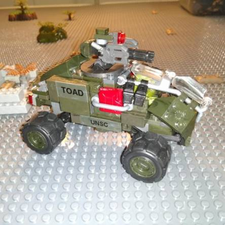 Image of: The UNSC Toad (custom vehicle)