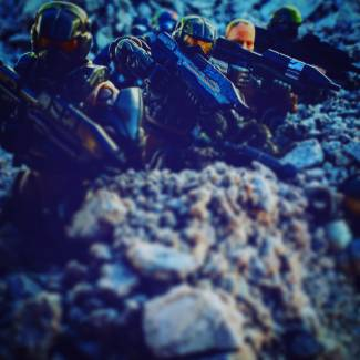 Image of: Hold your ground marines