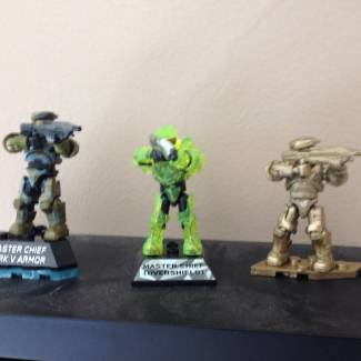 Image of: My master chief collection so far