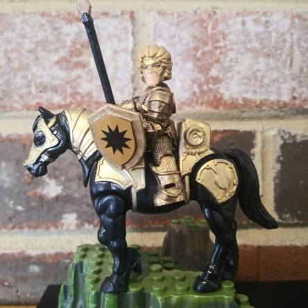 1980s Excalibur Mordred Movie armor custom figure