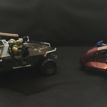 Old Vehicles, New Figures