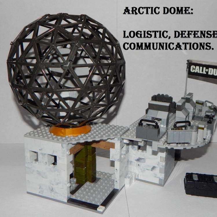 Image of: Arctic Dome, Logistic, Defense and Communicatios.