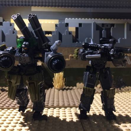 Modified exo suits