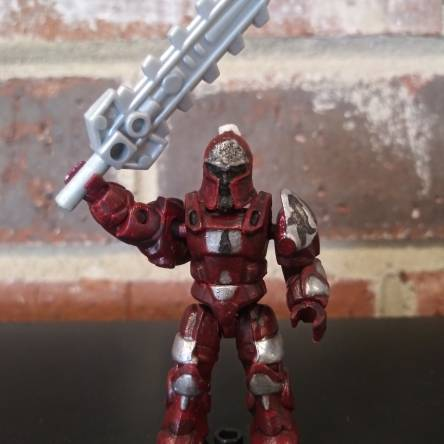 Warhammer 40k Blood Angel custom figure