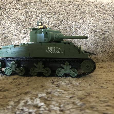 Custom m4 Sherman tank (aka war hawk)
