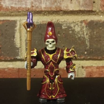 Ravenloft Azalin Rex Undead Wizard custom figure