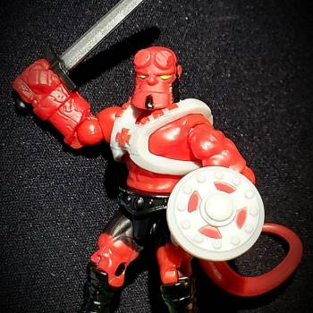MCX Hellboy Custom - HE-BOY, the Most Powerful Demon in the Universe!!!