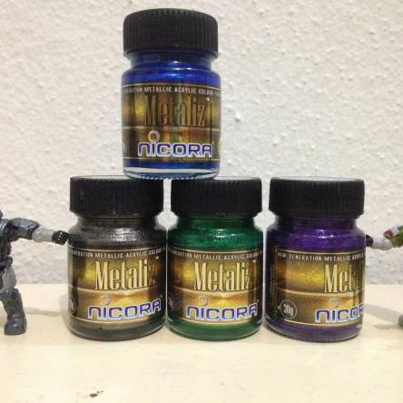 New metallic paints