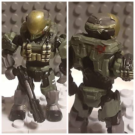 Just some simple custom spartans.