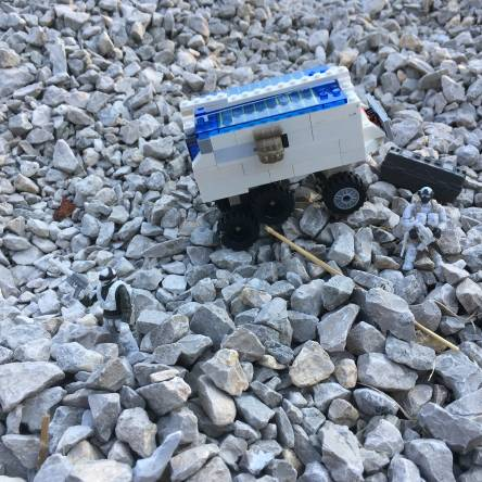 Arctic armored vehicle solar powered