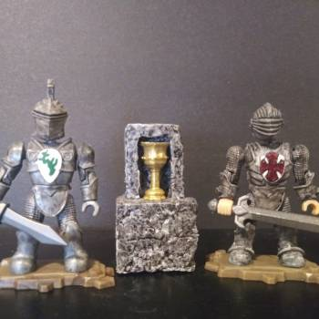 Mega Bloks King Arthur Grail Knights Sir Vander & Sir Randall custom figures