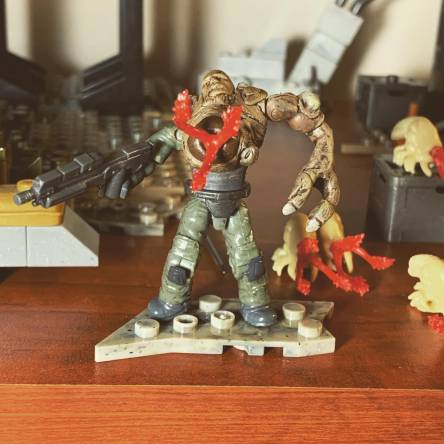 Flood combat forms grunt and marine