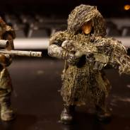 New vs old ghillie snipers