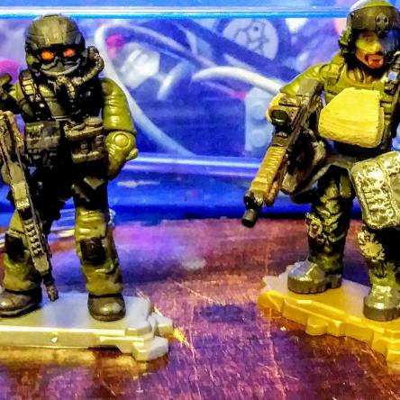 Killzone, Helgust and ISA soldiers.