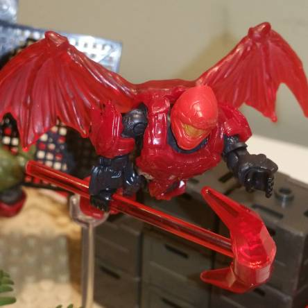 Halo Red Team finds Dragon armor and Dragon pick axe at Banished outpost