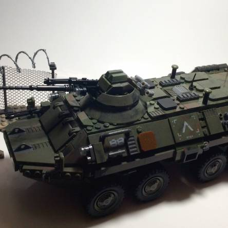 Mega Bloks Call of Duty COMBAT VEHICLE ATTACK! One of my favs!