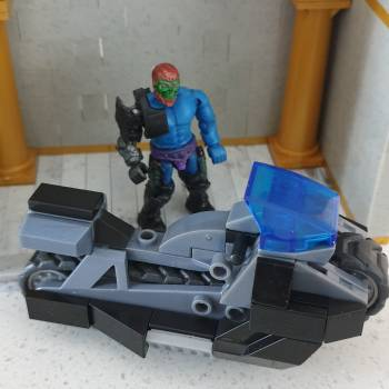 Trap Jaw's new ride