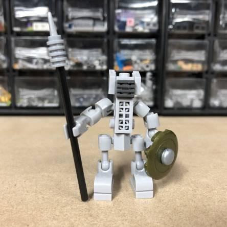 Gladiator Robot Building Idea