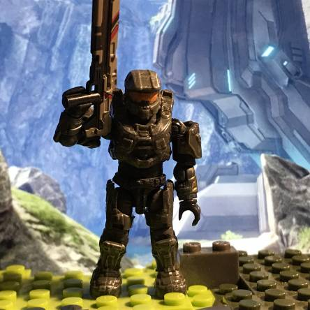 Custom halo 4 master chief Accurate and a little bit taller