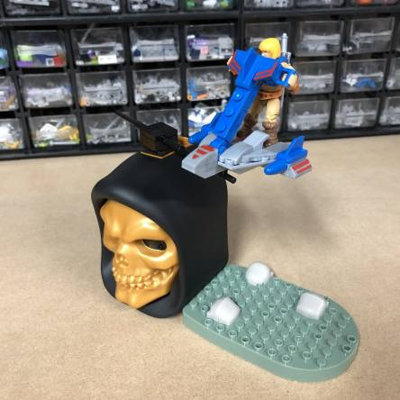 Behind the Scenes: Masters of the Universe JET SLED