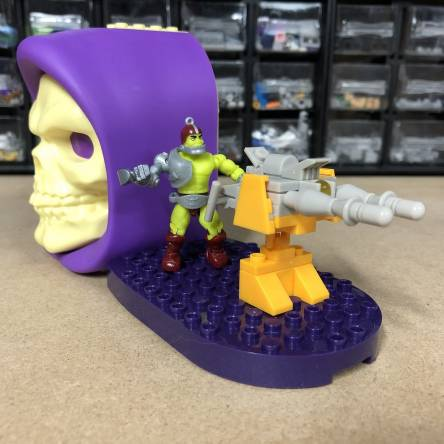 Behind the Scenes: Masters of the Universe LASER TURRET