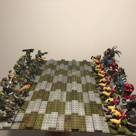 Halo Infinite Chess Set!