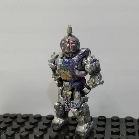 Custom Saint-14 figure with perfect paradox