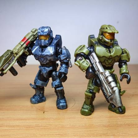 Master Chief and Fred