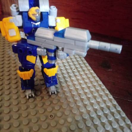New weapon for exosuit skyfire