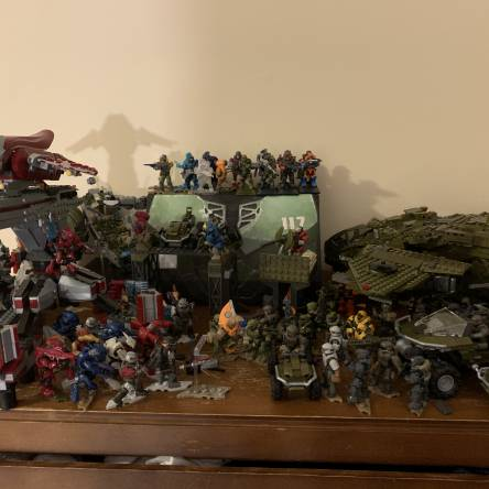 My infinite collection, missing 1 set