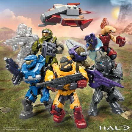 Behind the Scenes: New Halo Micro-Action Figure Infinite Collection 2