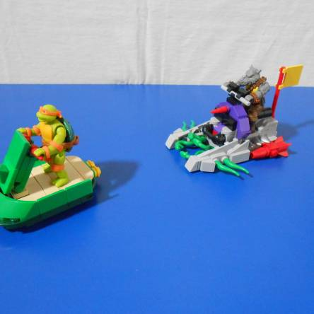 TMNT Footski and Sewer Jetski