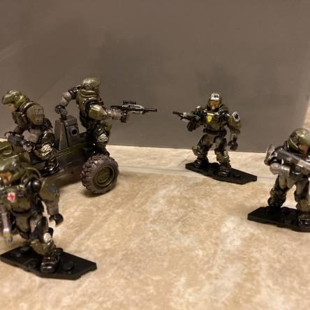 Ceta's Customs: Halo 3 Marine Squadron