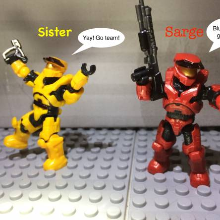 Red Vs Blue customs (CE Edition 2)