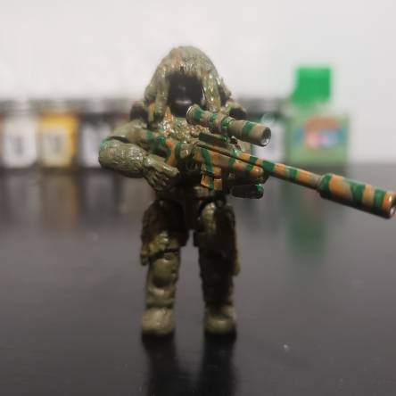 Custom Ghillie Sniper