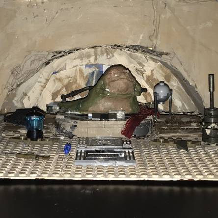 Custom jabba's palace build and custom jabba