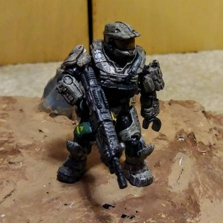 Spartan 409 and ODST hellhounds.